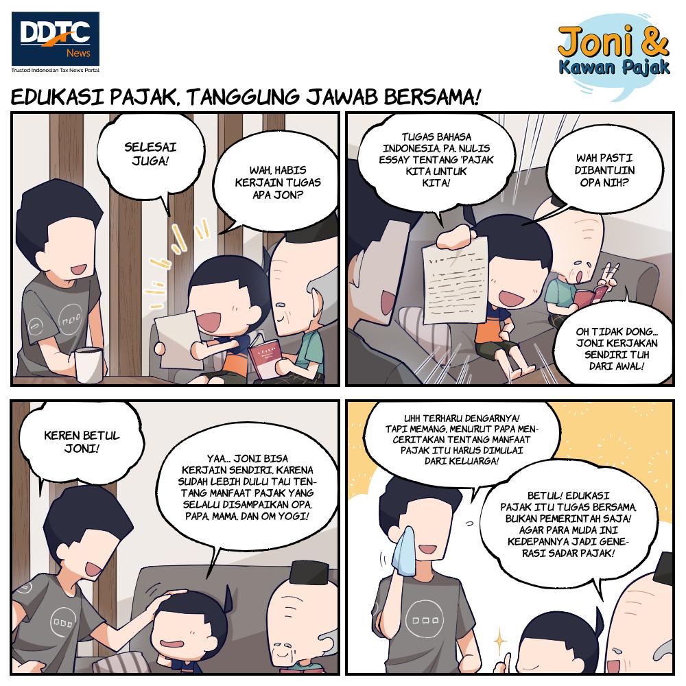 Edukasi Pajak, Tanggung Jawab Bersama!