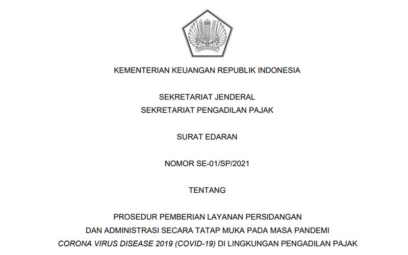 Ketentuan Waktu & Jenis Layanan di Pengadilan Pajak Mulai 26 Juli 2021