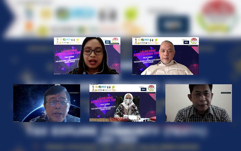 Atpetsi Jawa Timur Diluncurkan, DJP: Tax Center Punya Peran Strategis