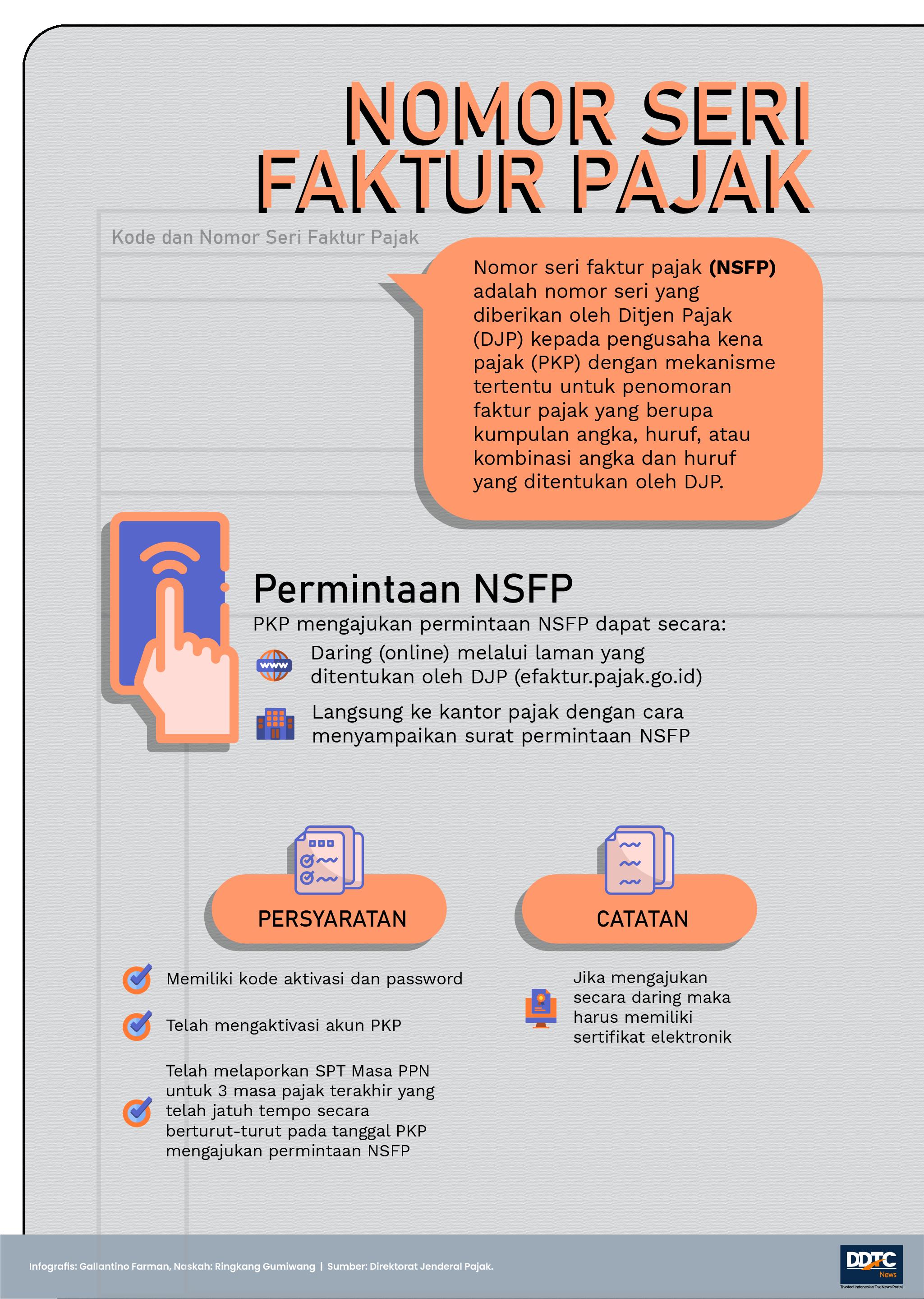 Cara Meminta Nomor Seri Faktur Pajak ke DJP