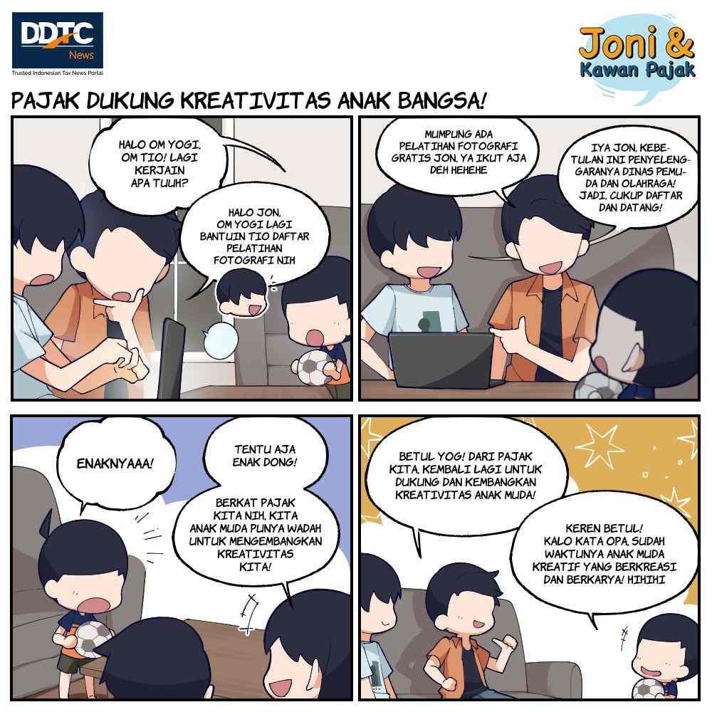 Pajak Dukung Kreativitas Anak Bangsa!