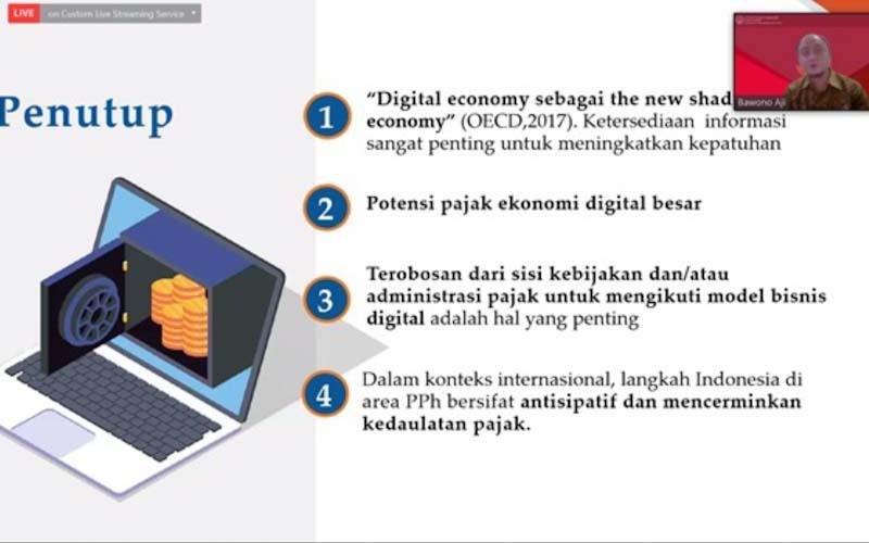 Pajak Ekosistem Digital Dalam Negeri Perlu Terobosan Administrasi