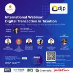 Ada Webinar Internasional Soal Pajak dan Transaksi Digital, Tertarik?
