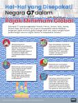 Poin-Poin yang Disepakati Negara G7 Perihal Pajak Minimum Global