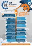 Sambut HUT ke-14, DDTC Gelar Lomba Menulis dan Webinar Series
