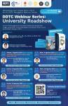 HUT ke-14, DDTC Gelar Webinar Series: University Roadshow, Berminat?