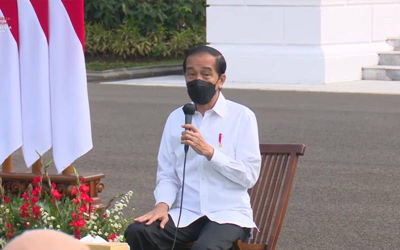 PPKM Berlanjut, Jokowi Minta Pengusaha Tahan Banting