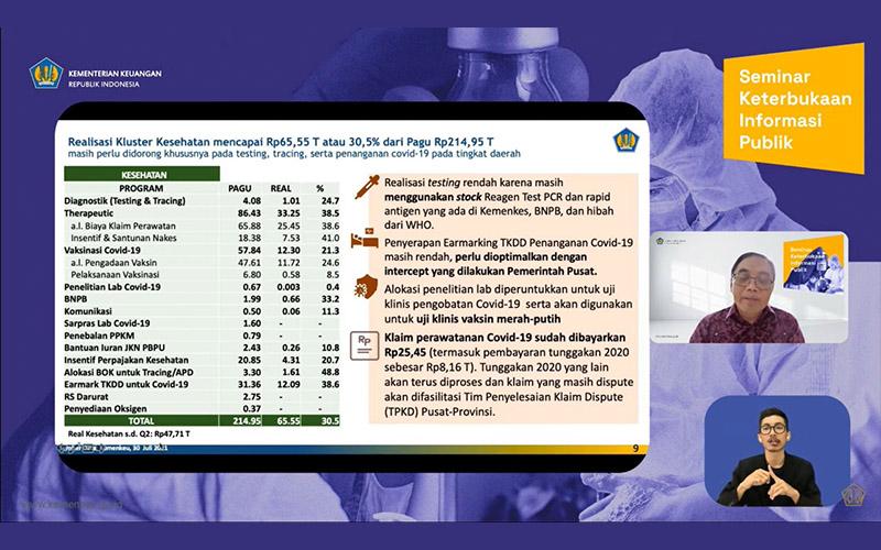 Pemberian Insentif Perpajakan Bidang Kesehatan Rp4,31 Triliun