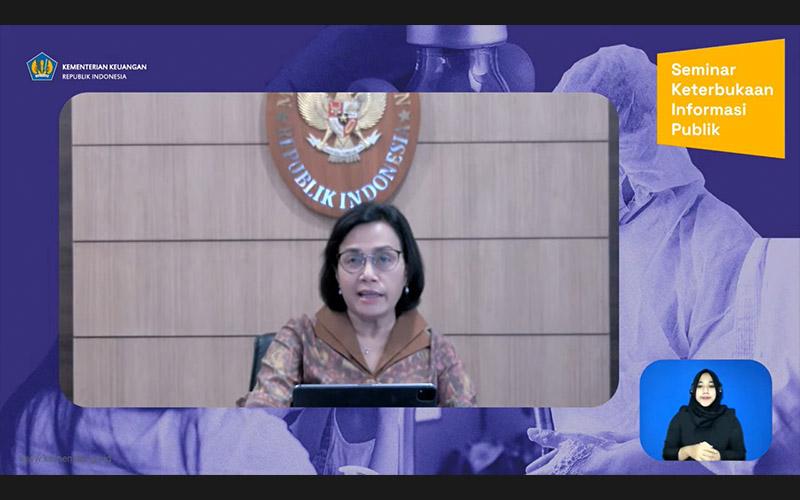 Ada Keluhan Subsidi Kuota Internet Telat Cair, Ini Respons Sri Mulyani