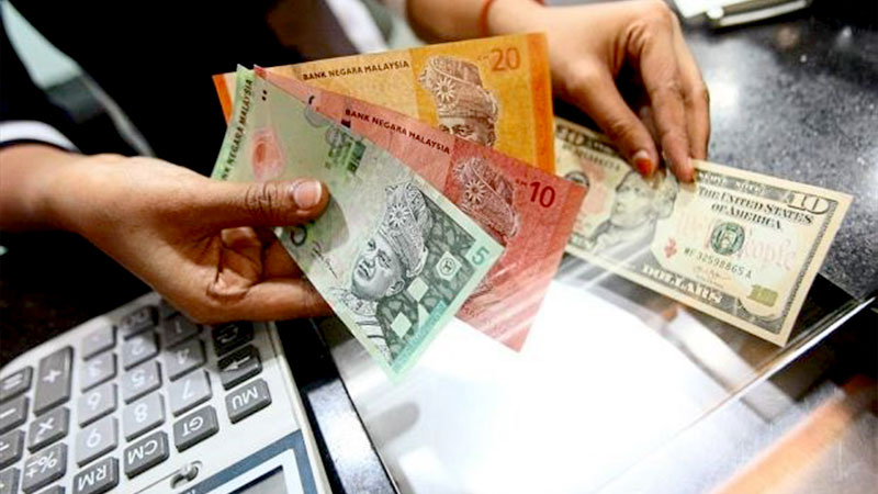 Dolar AS & Ringgit Malaysia Kompak Melemah