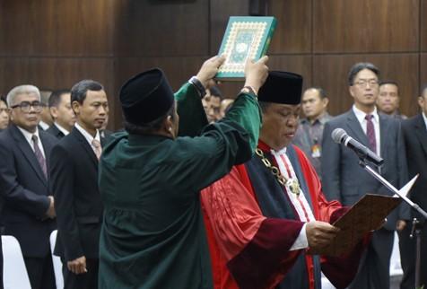 Arief Hidayat Kembali Pimpin Mahkamah Konstitusi