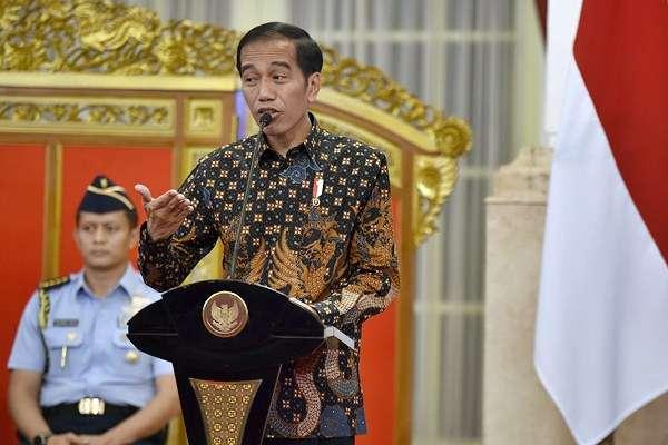 Begini Arahan Jokowi untuk Menteri dan Pimpinan Lembaga di Awal 2018