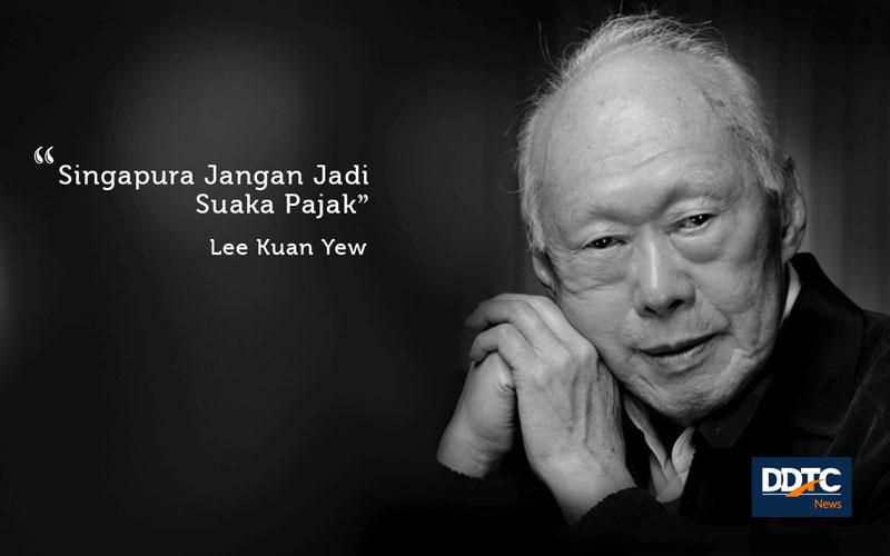 'Singapura Jangan Jadi Suaka Pajak'