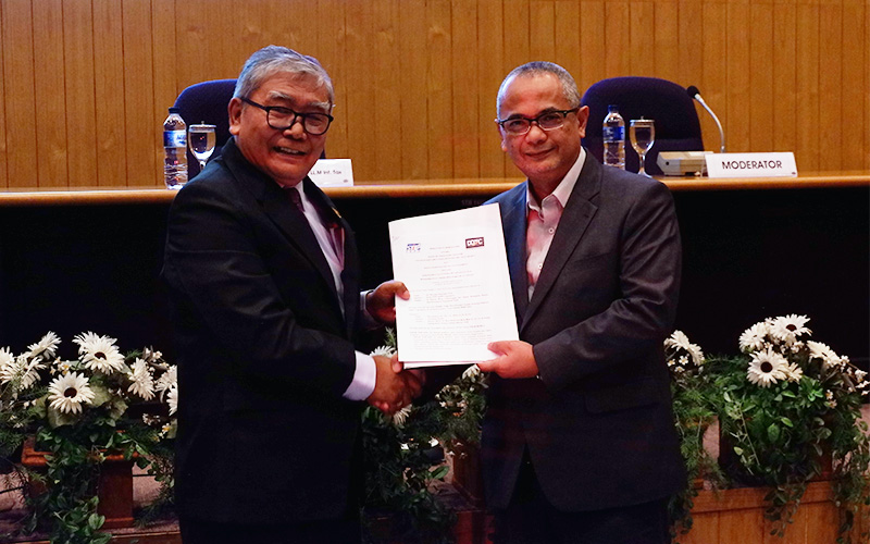 DDTC & STIE YKPN Teken Perjanjian Kerja Sama Pendidikan Pajak