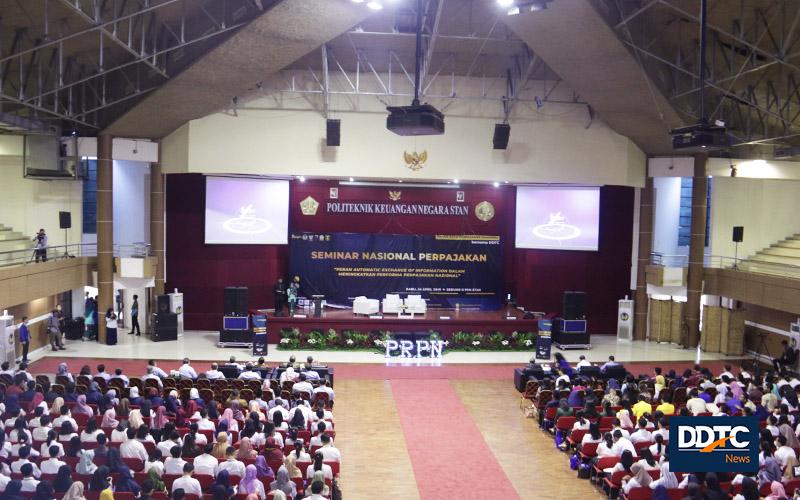 Adakan Seminar Nasional, PKN STAN & DDTC Bedah Soal AEoI
