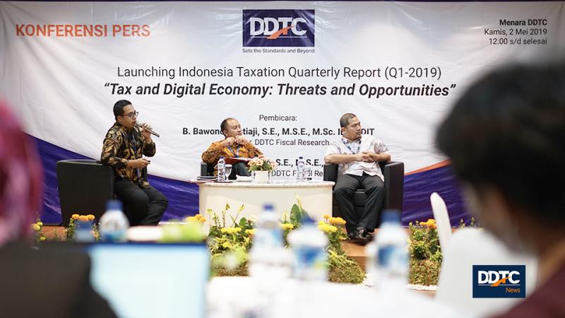 Launching Laporan Kuartalan, DDTC Fiscal Research Berikan Pandangan