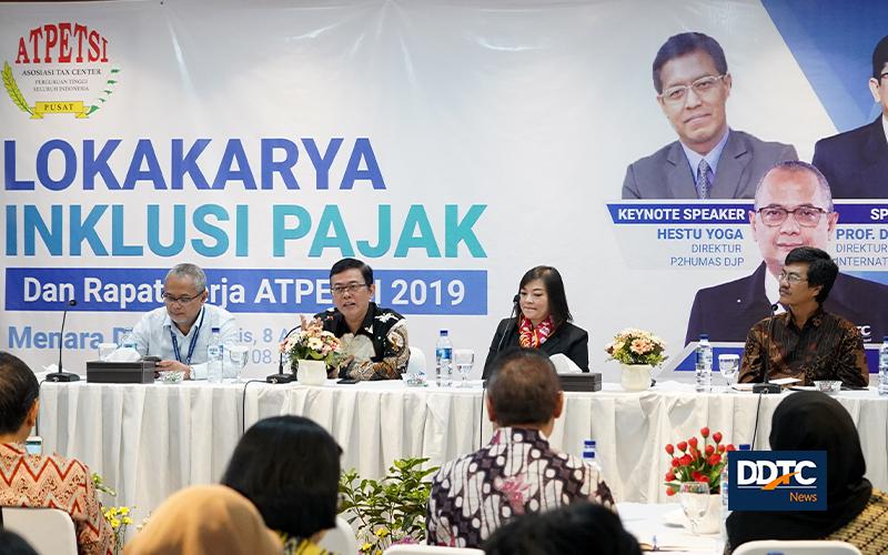 ATPETSI Gelar Lokakarya Inklusi Pajak