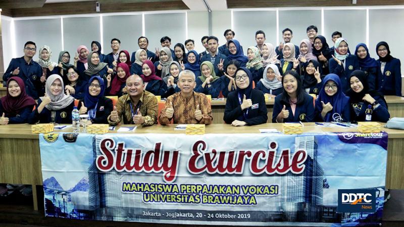 Vokasi Universitas Brawijaya Gelar Kunjungan Study Excursie di DDTC