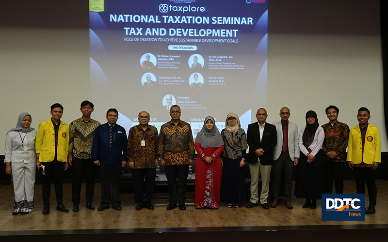 Seminar Pajak dan SDGs di Universitas Indonesia