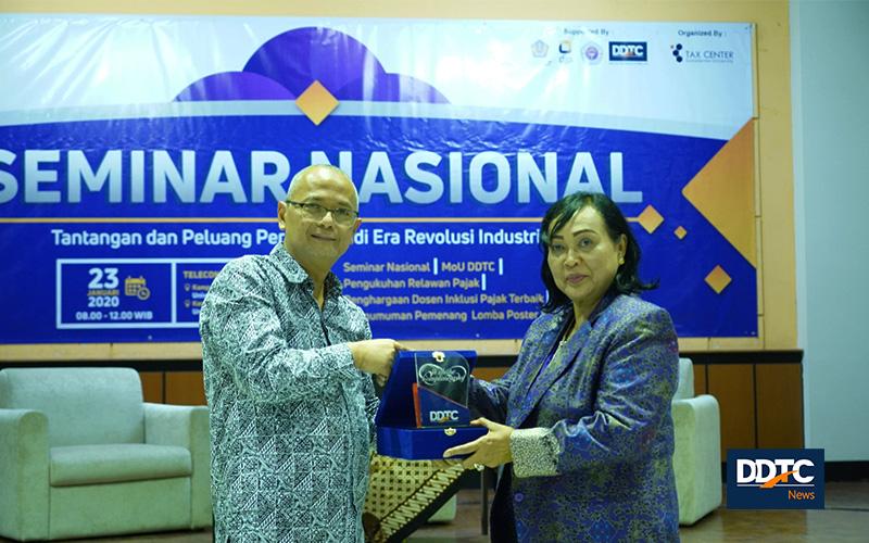 Awal 2020, DDTC & Universitas Gunadarma Teken Kerja Sama Pendidikan
