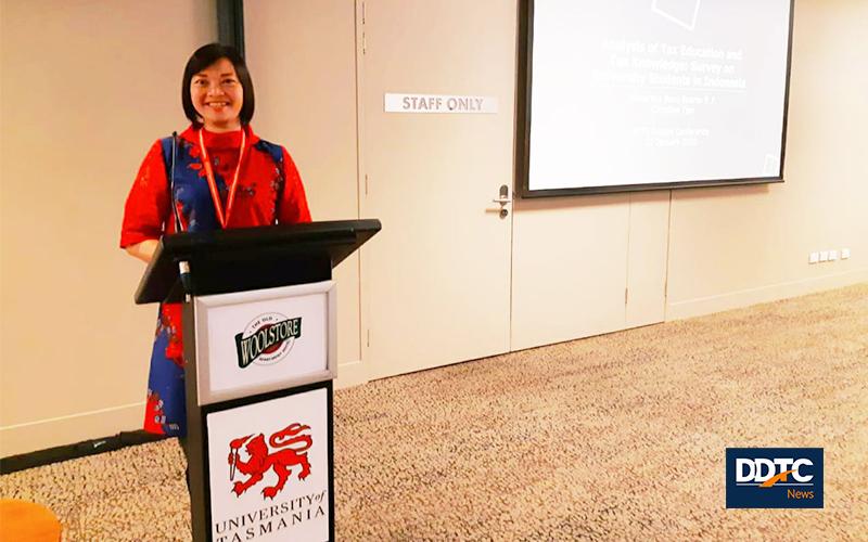 DDTC Sponsori Akademisi Pajak FEB UI Hadiri Konferensi di Tasmania
