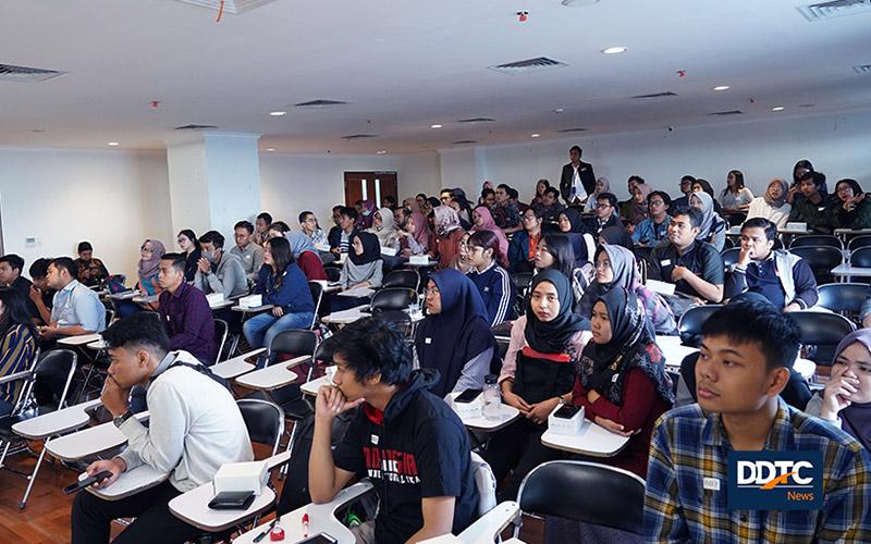 Kuliah Umum & Open Recruitment DDTC di UB