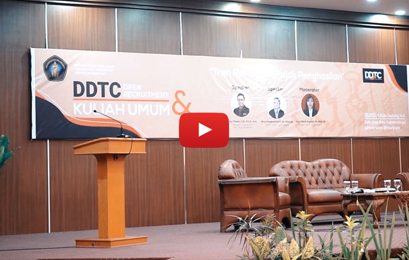 Kuliah Umum & Open Recruitment DDTC di Universitas Brawijaya