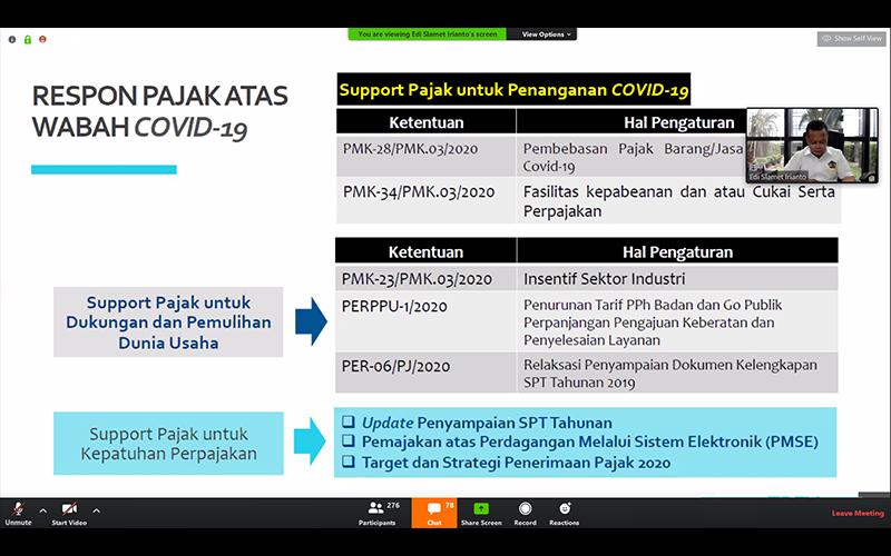Diskusikan Dampak Covid-19 terhadap Pajak, FEB Unpad Gelar Webinar