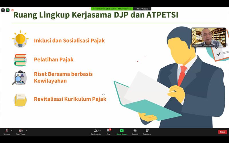 Bersama DJP, Atpetsi Bakal Jalankan Riset Pajak Berbasis Kewilayahan