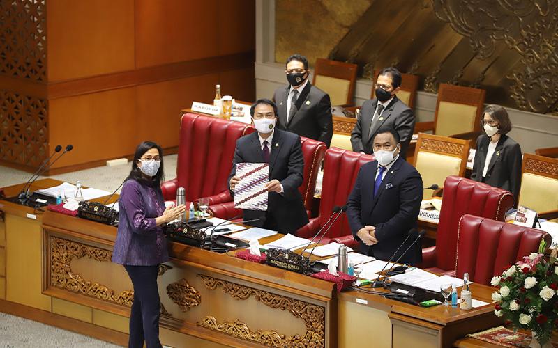 Di Depan Anggota DPR, Sri Mulyani Bilang Reformasi Pajak Tidak Mudah