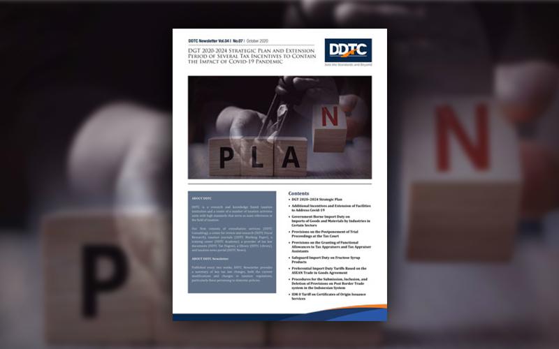Renstra DJP 2020—2024, Download Aturannya di Sini