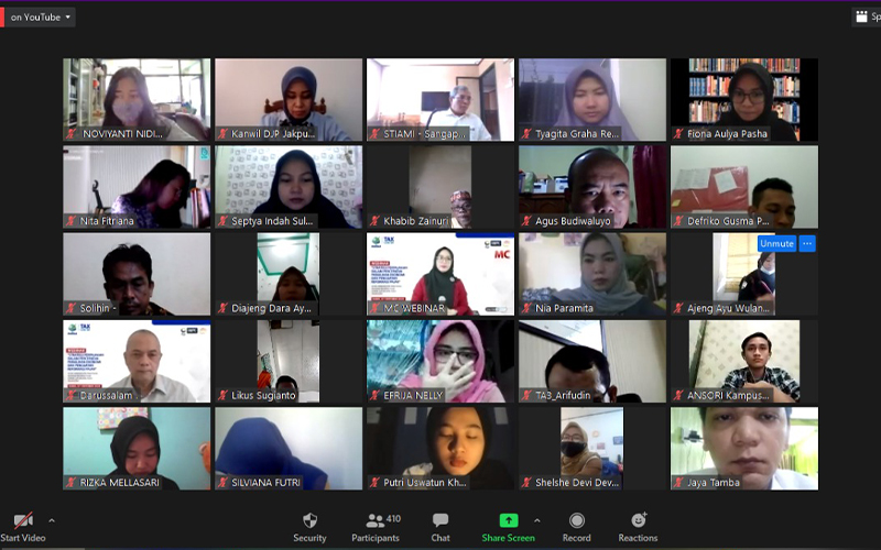 Tutup Relawan Pajak 2020, STIAMI Gelar Webinar Soal Insentif Covid-19