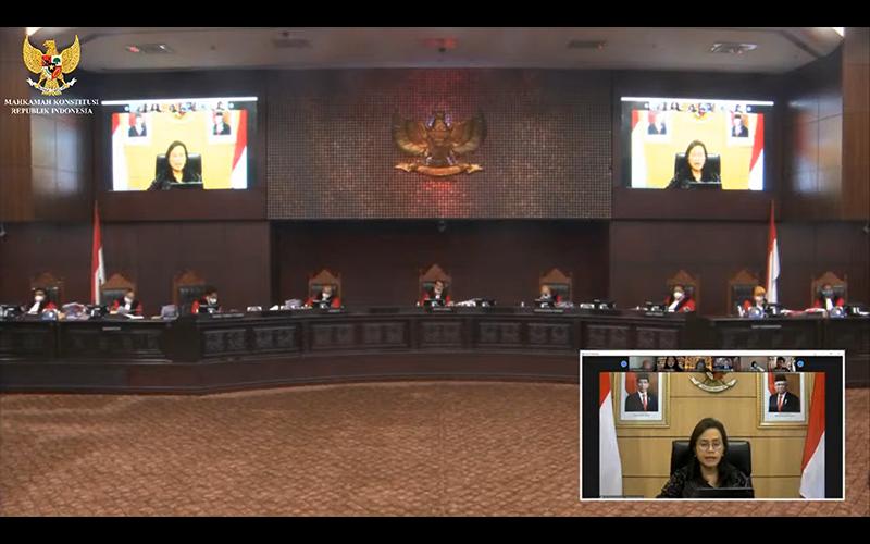 Sidang MK, Sri Mulyani Jelaskan Soal Pemberian Insentif Pajak