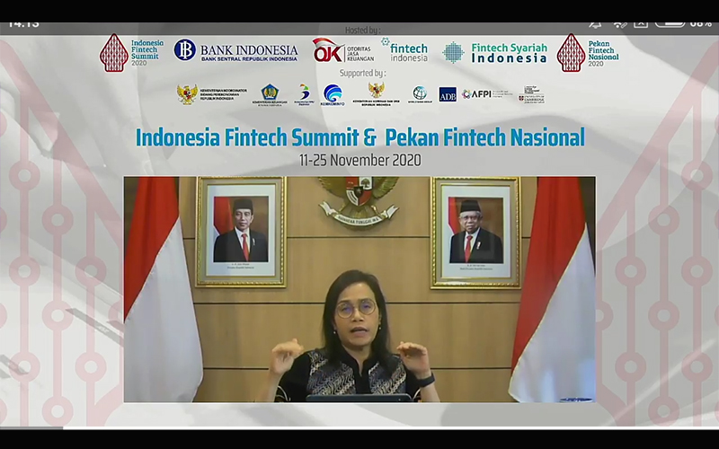 Tarif PPh Final Turun, Sri Mulyani Dorong UMKM Pakai Sistem Digital