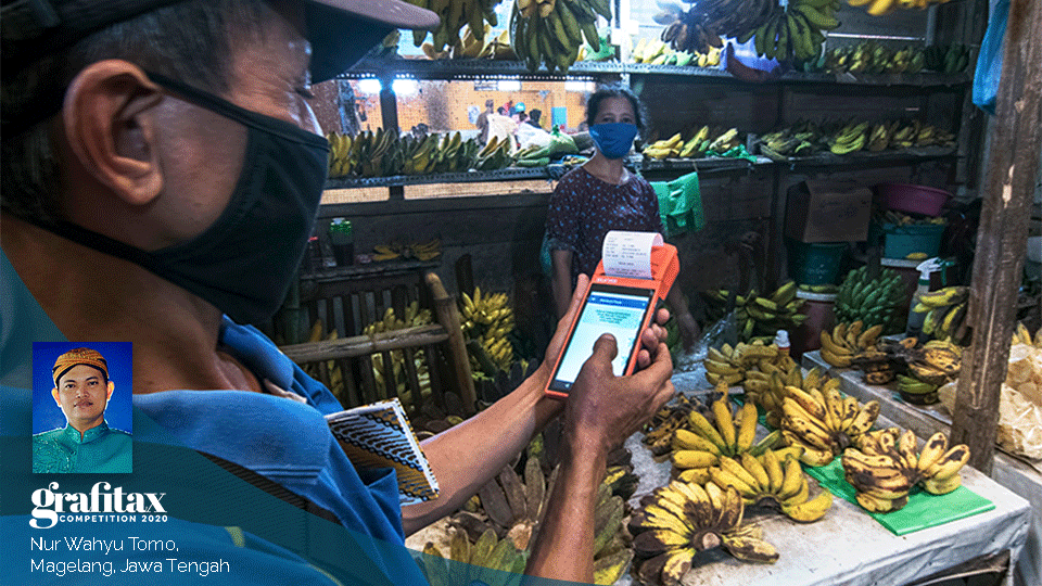 Retribusi Pasar Secara Elektronik