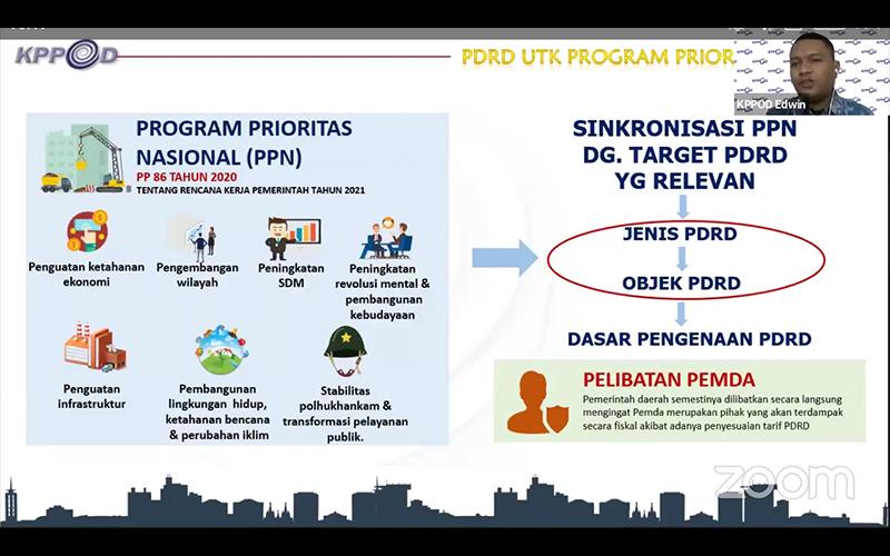 RPP Pajak dan Retribusi Daerah, KPPOD Ingatkan Keterlibatan Pemda