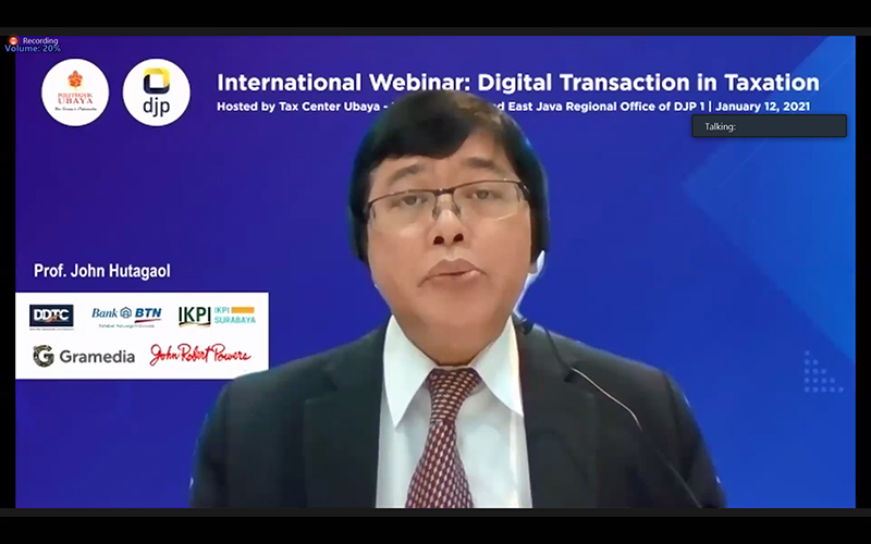 DJP Berkomitmen Aktif Dorong Tercapainya Konsensus Pajak Digital