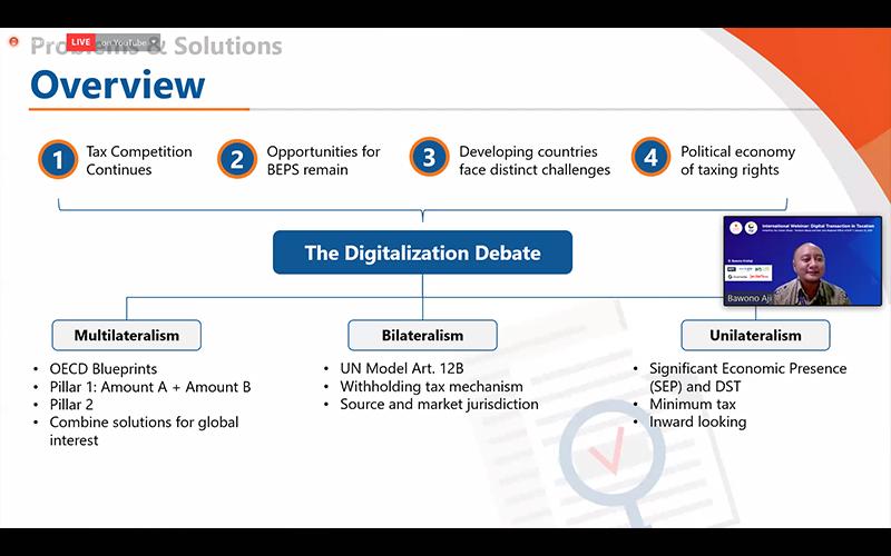 Konsensus Global Pajak Digital Bisa Jamin Kedaulatan Pajak Tiap Negara
