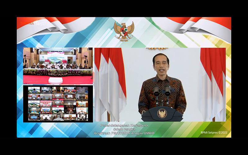 Soal Kerja Sama Investor dengan UMKM, Ini Harapan Jokowi