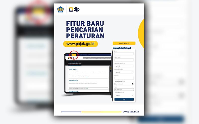 DJP Sediakan Fitur Baru Pencarian Peraturan Perpajakan