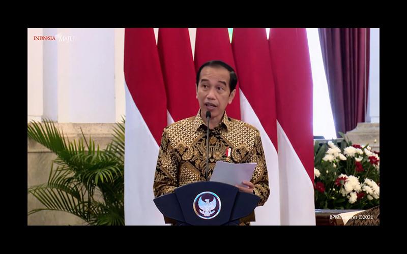 Singgung Insentif Pajak Industri Media, Jokowi: Memang Tidak Seberapa