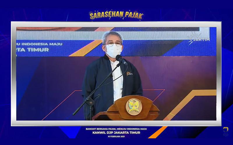 Gelar Sarasehan, Kanwil DJP Jaktim Minta Masukan Wajib Pajak