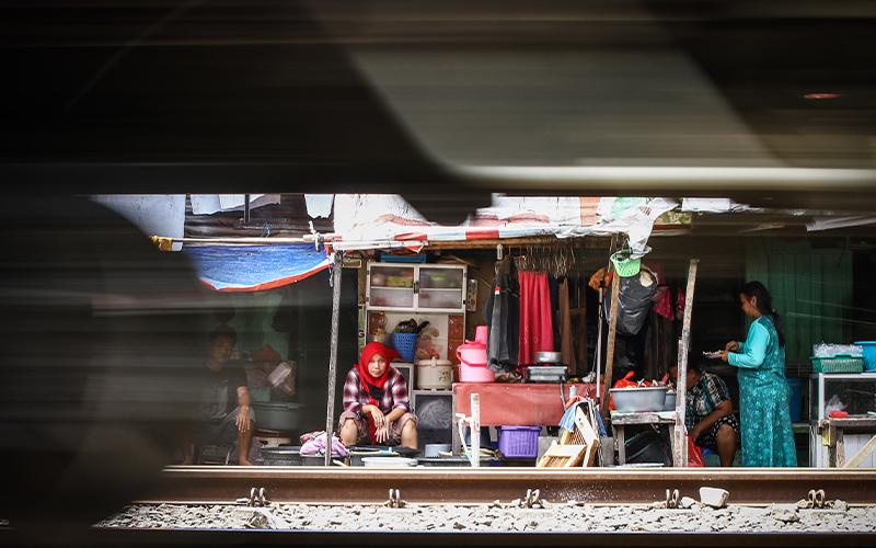 Waduh, BPS Laporkan Jumlah Penduduk Miskin Naik Lagi