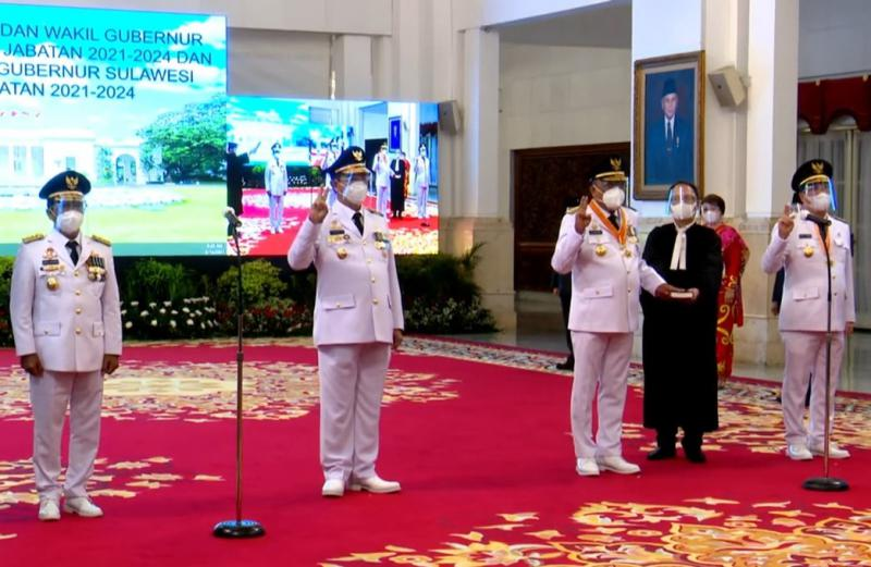 Dilantik Jokowi, Gubernur Ini Punya PR Kumpulkan Pajak Rp430 Miliar