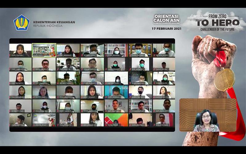 Untuk Calon ASN di DJP, Sri Mulyani Ingatkan Soal Godaan dan Tantangan
