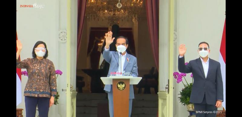 Kenalkan Direksi dan Pengawas LPI, Begini Harapan Jokowi
