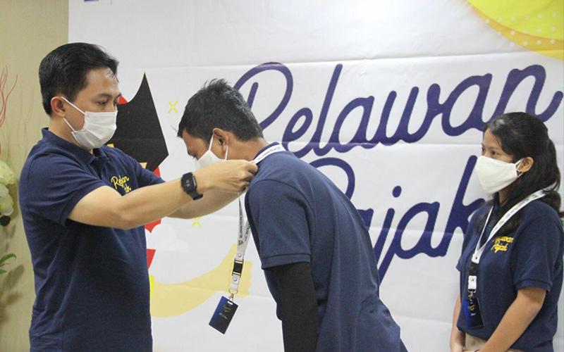 Kanwil DJP Sumut I Kukuhkan Ratusan Relawan Pajak