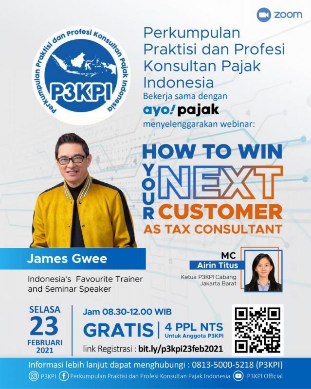 P3KPI Gelar Webinar Pajak Gratis, Tertarik?