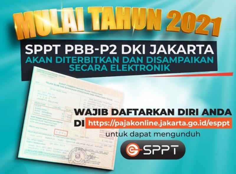 Baru 236 Ribu Objek Didaftarkan untuk Peroleh e-SPPT PBB