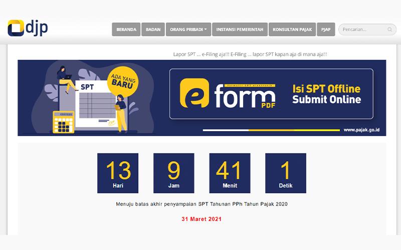 Tenggat 13 Hari Lagi, Lapor SPT dengan e-Filing DJP Online
